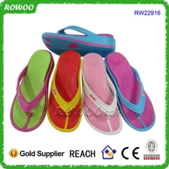 Durable Lady Wedge Heel Injection Eva Slippers