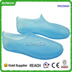 Water Proof Summer Transparent PVC Sandal Shoe